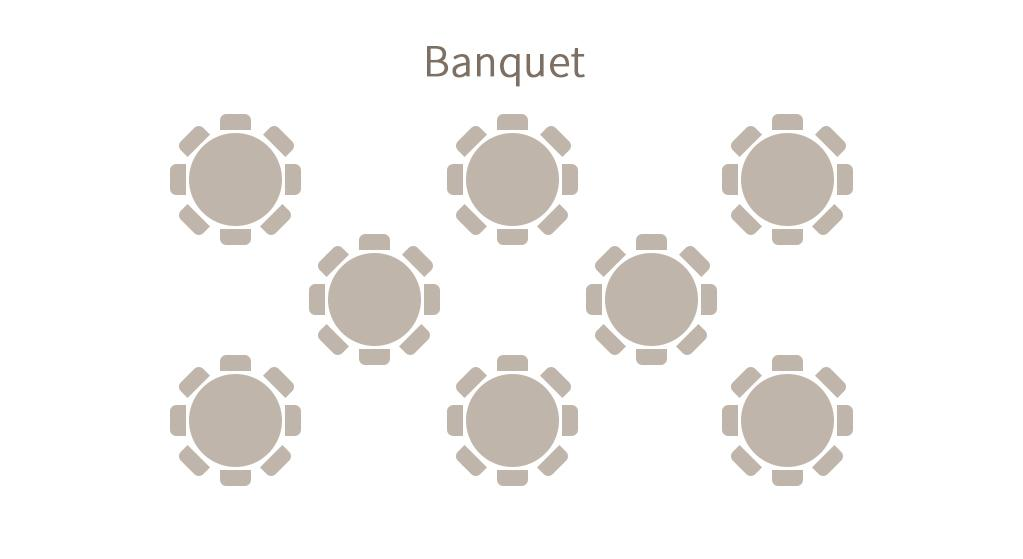 Convention - Seating arrangement - Banquet