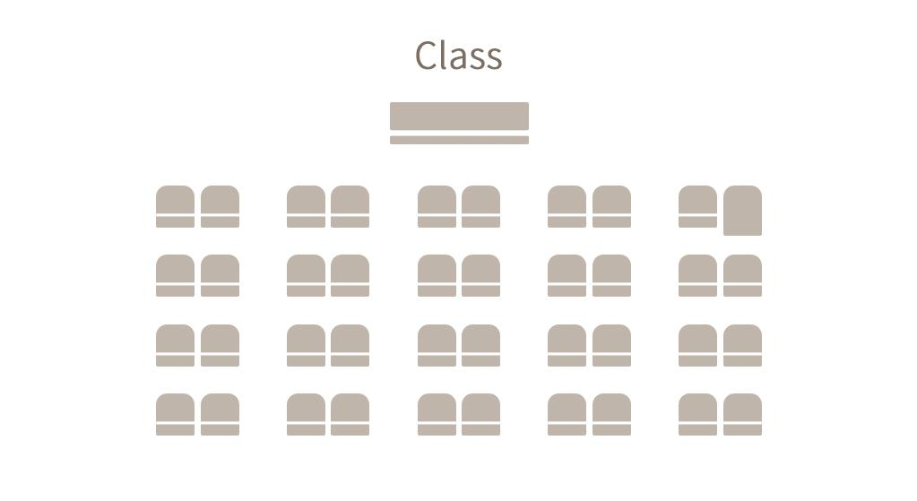 Convention - Seat Layout - Class