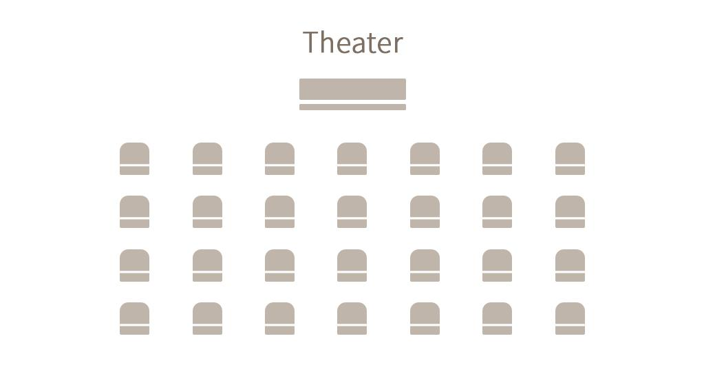 Convention - Seating arrangement - Theater