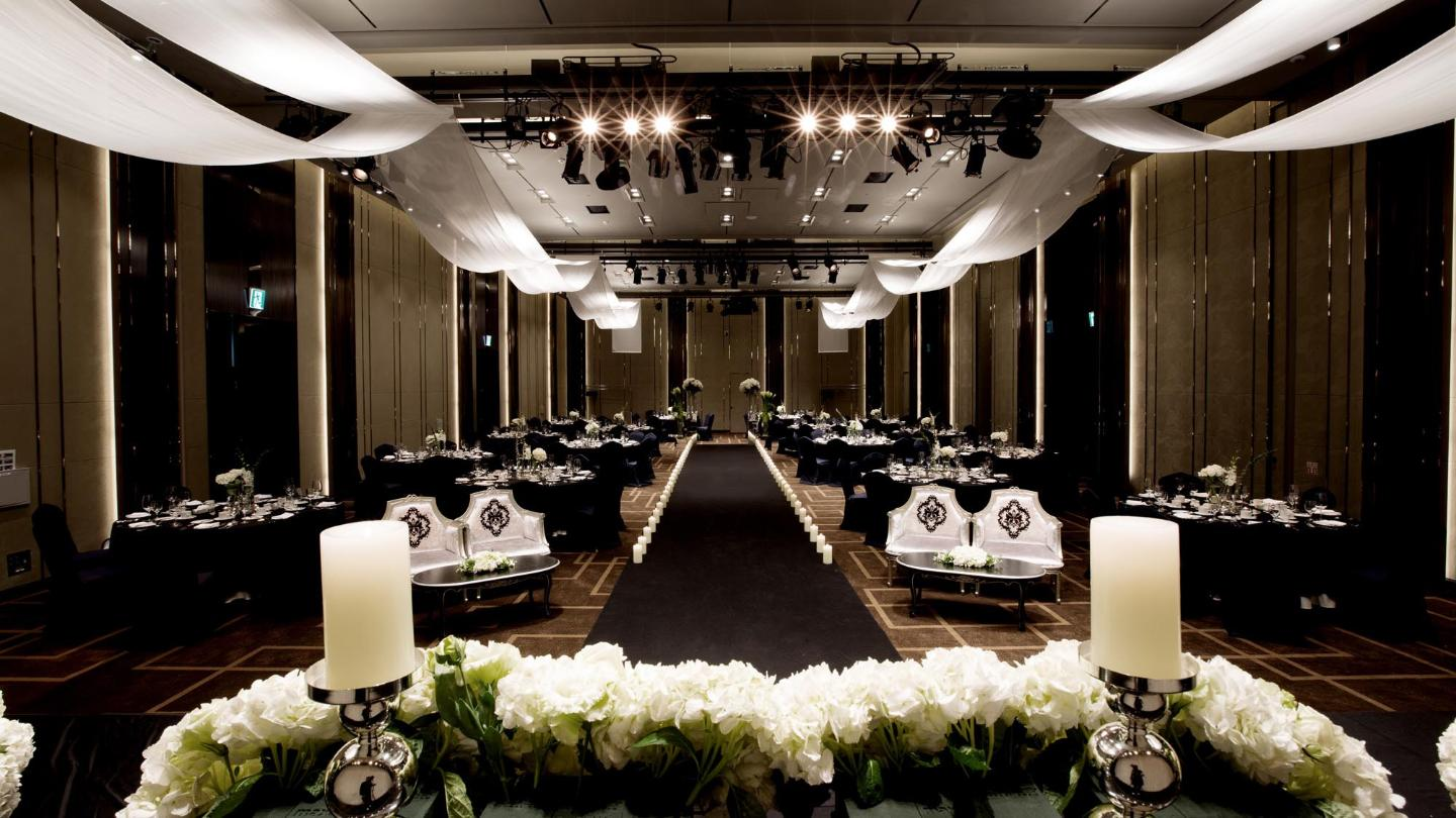 Lotte City Hotel Daejeon - Wedding & Convention - Hotel Wedding - Crystal Ballroom