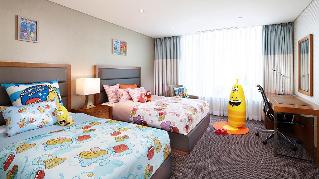 Lotte City Hotel Mapo - Rooms - Character - Raba Family Twin Room
