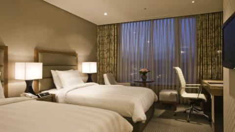 Lotte City Hotel Mapo - Rooms - Deluxe Room