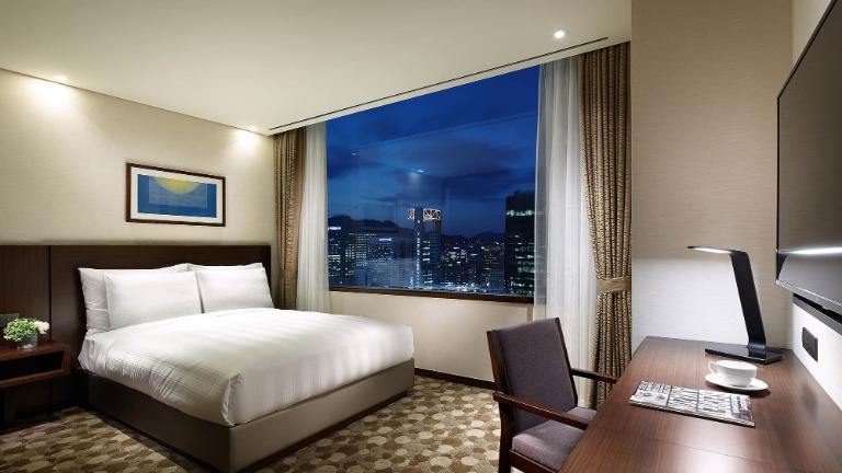 Seoul Hotel Rooms Standard Room Lotte City Hotel Myeongdong