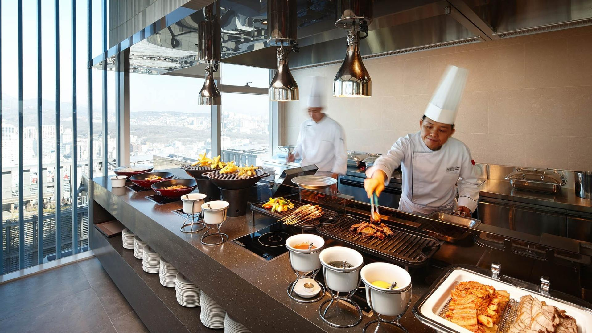 Lotte City Hotel Myeongdong-Dinging-Restaurant