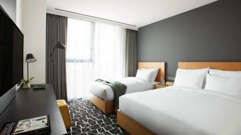L7 Gangnam-Rooms-Standard-Standard Family Twin Room