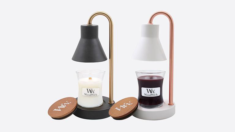 WoodWick Mini Candle & Warmer Set, package, fall, L7 , candle