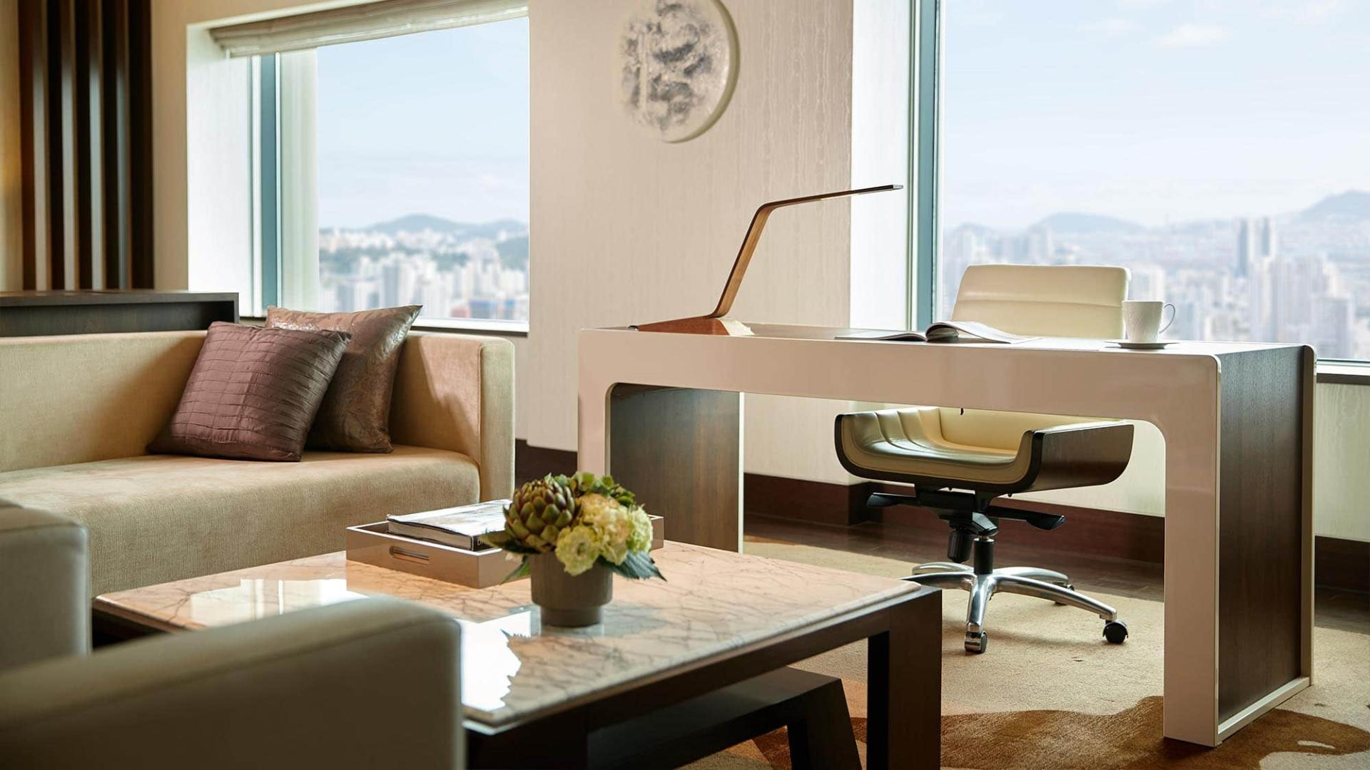 Lotte Hotel Busan-Rooms-Suite-Presidential Suite Room