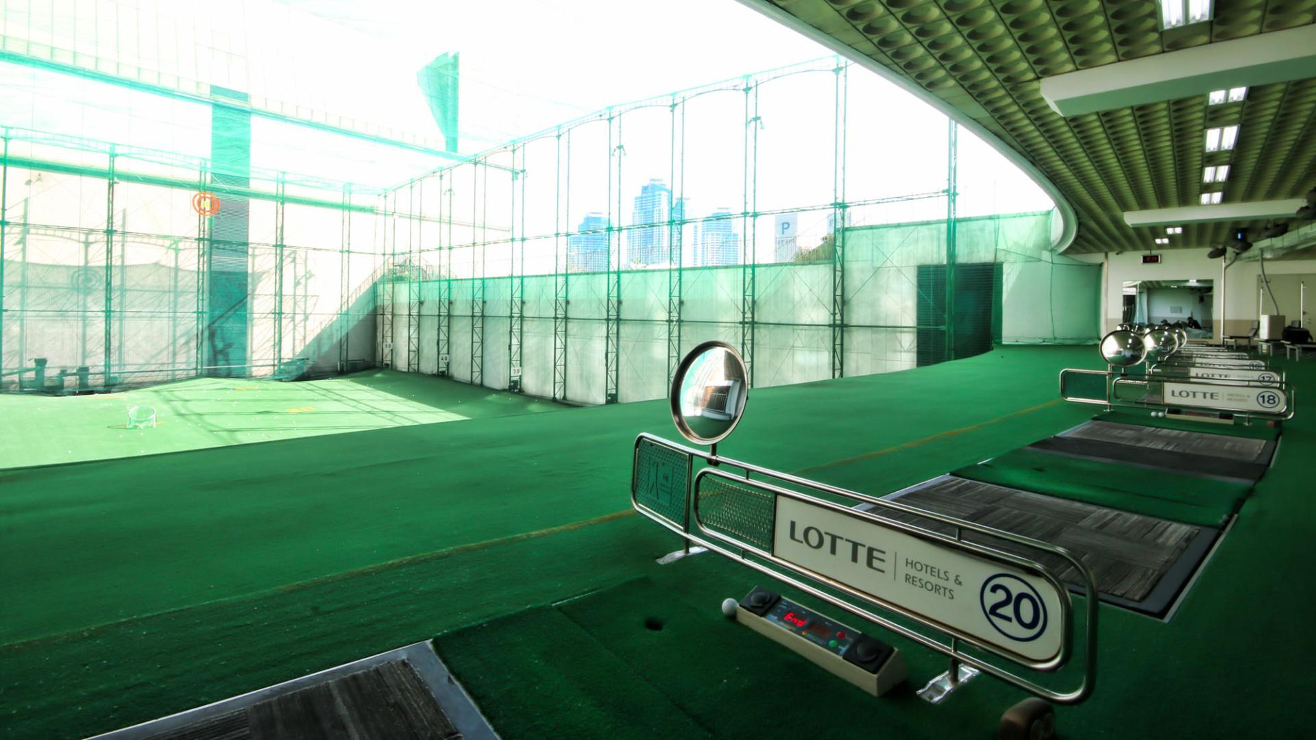 Lotte Hotel Busan-Facilities-Spa & Fitness-Golf Driving Range