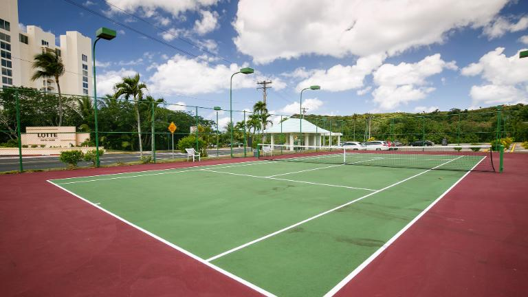 Lotte Hotel Guam, tennis-court