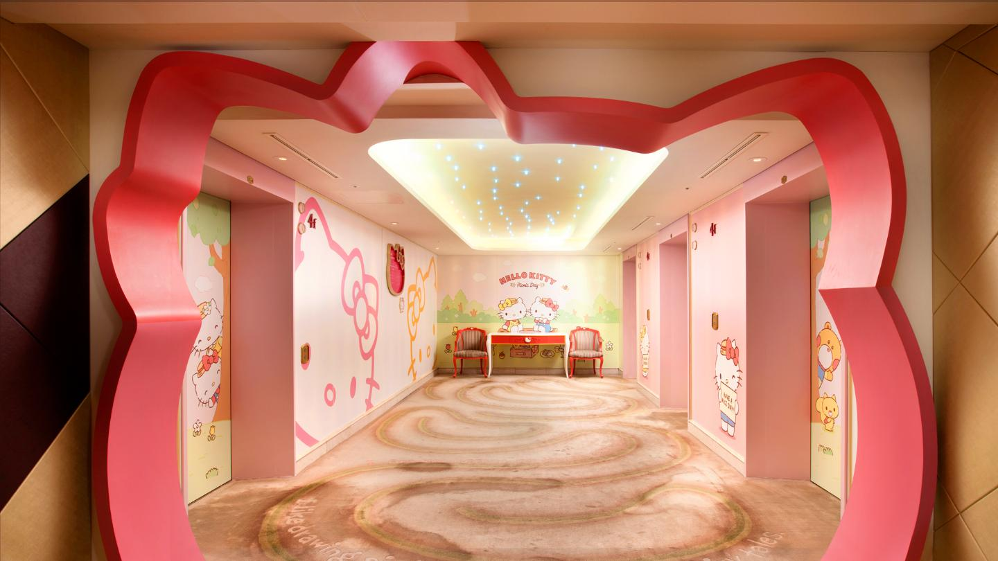 Hello Kitty entrance