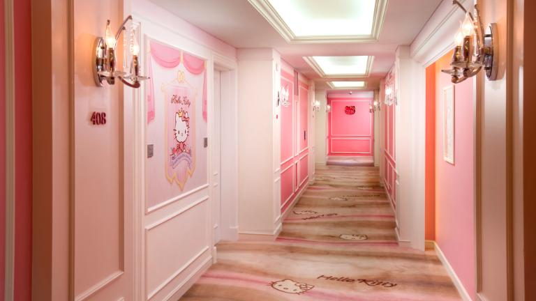 Hello Kitty hallway
