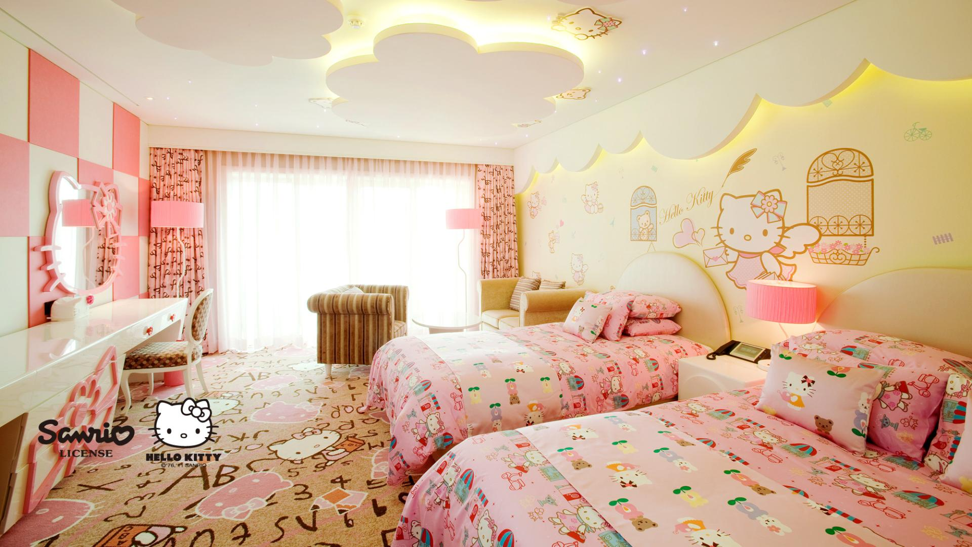 Kitty Kids Room