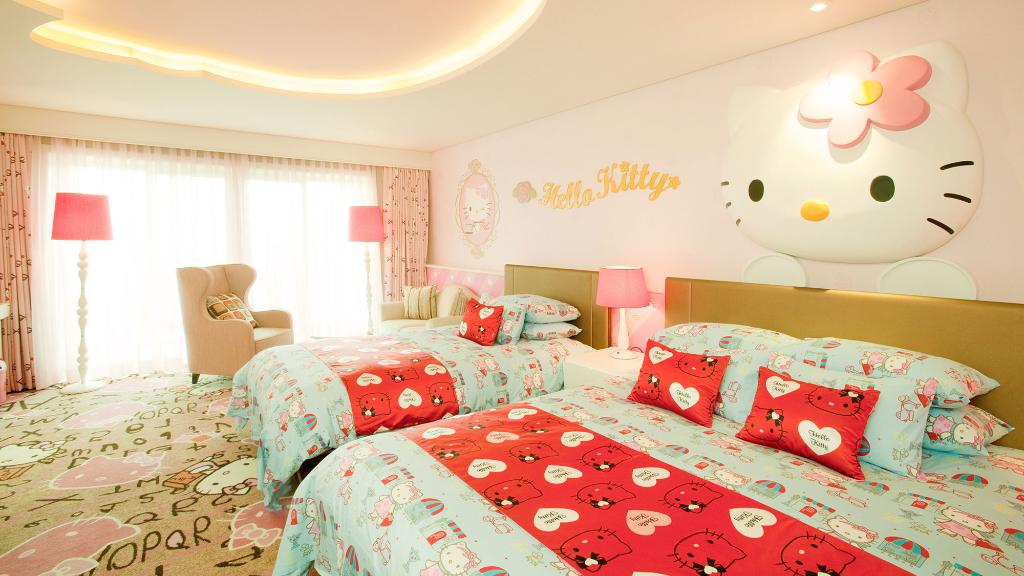 Lotte Hotel Jeju-Rooms-Character-Kitty Kids Room