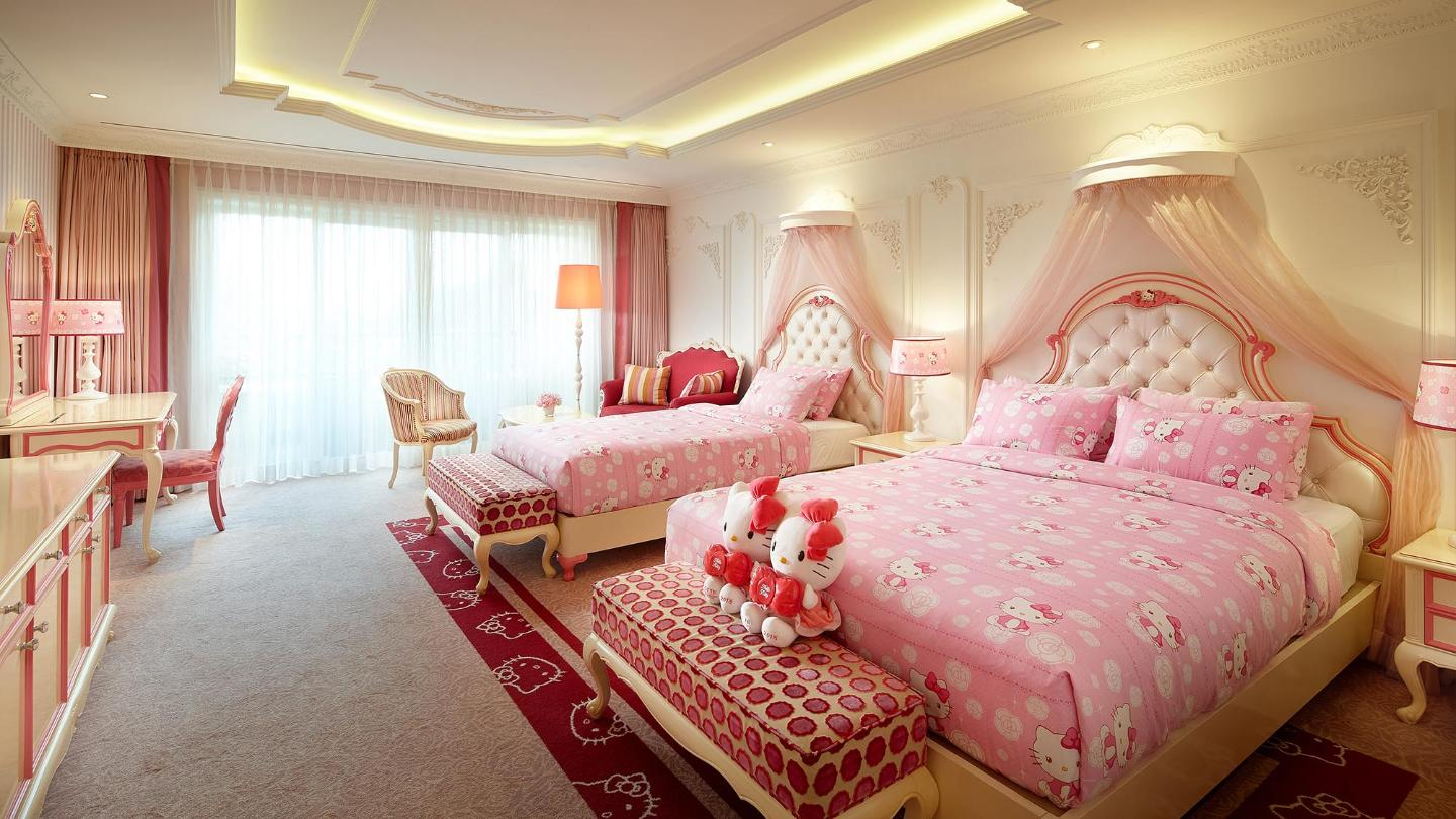Lotte Hotel Jeju-Rooms-Character-Kitty Princess Room