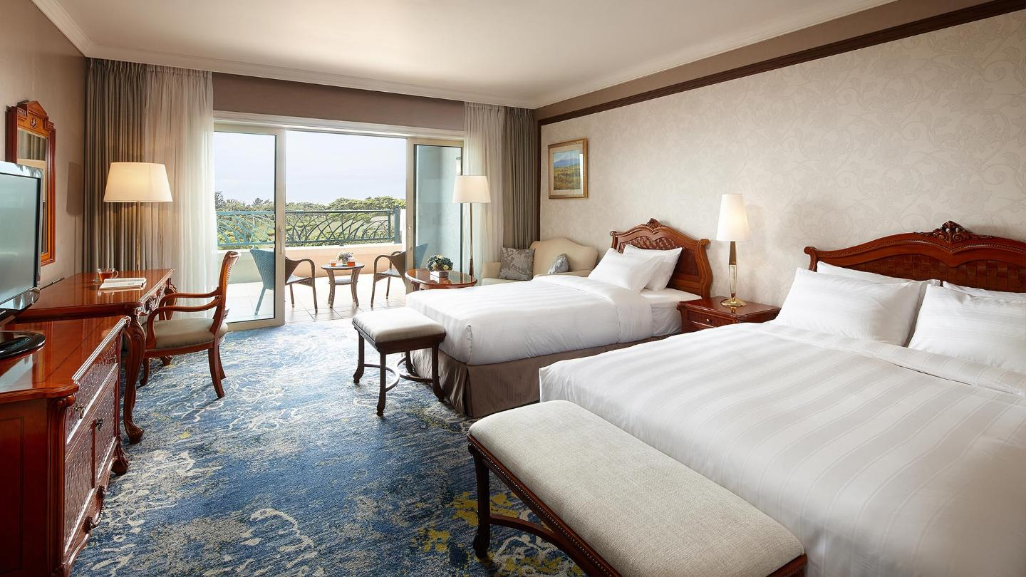 Lotte Hotel Jeju-Rooms-Deluxe-Deluxe Room (Terrace Ocean View)