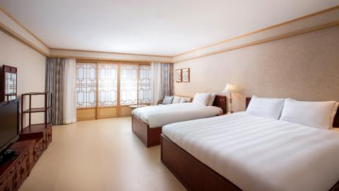 jeju, accommodation, premier ondol room