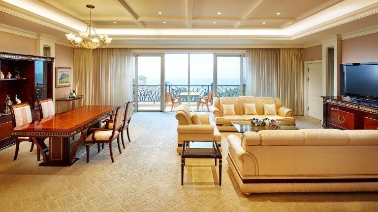 Lotte Hotel Jeju-Rooms-Suite-Presidential Suite Room (Ocean View)