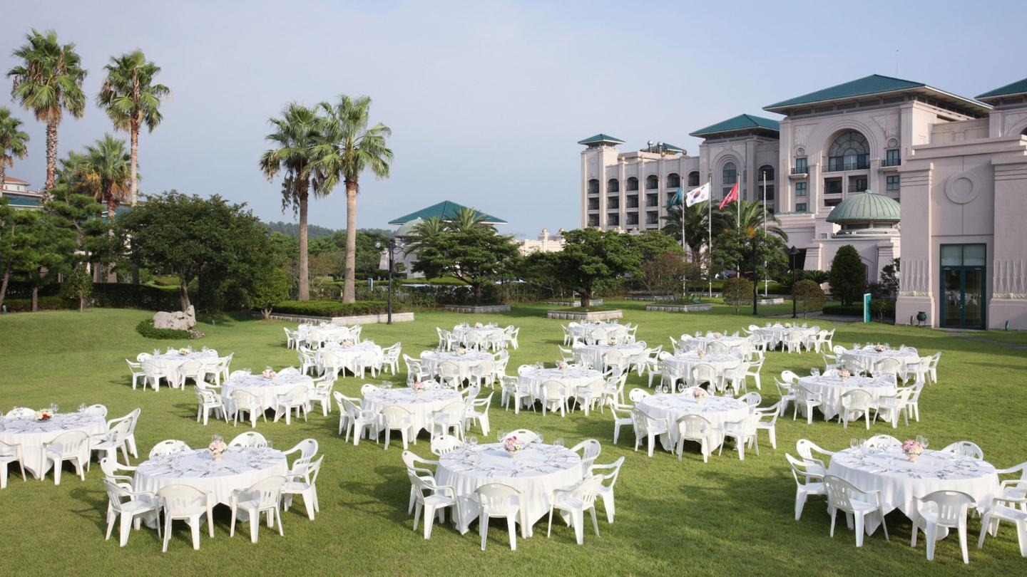 Lotte Hotel Jeju - Convention - Outdoor Plaza