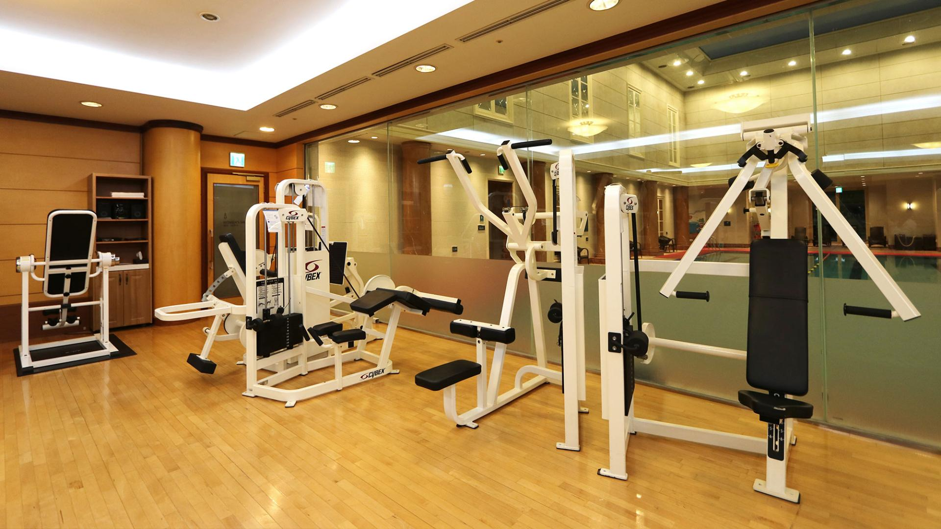 Lotte Hotel Jeju-Facilities-Spa & Fitness-Hotel Gym