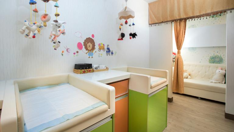 kids world nursing room