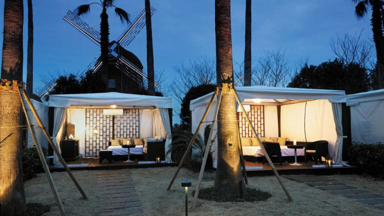 Lotte Hotel Jeju-Facilities-Spa & Fitness-Private Cabana