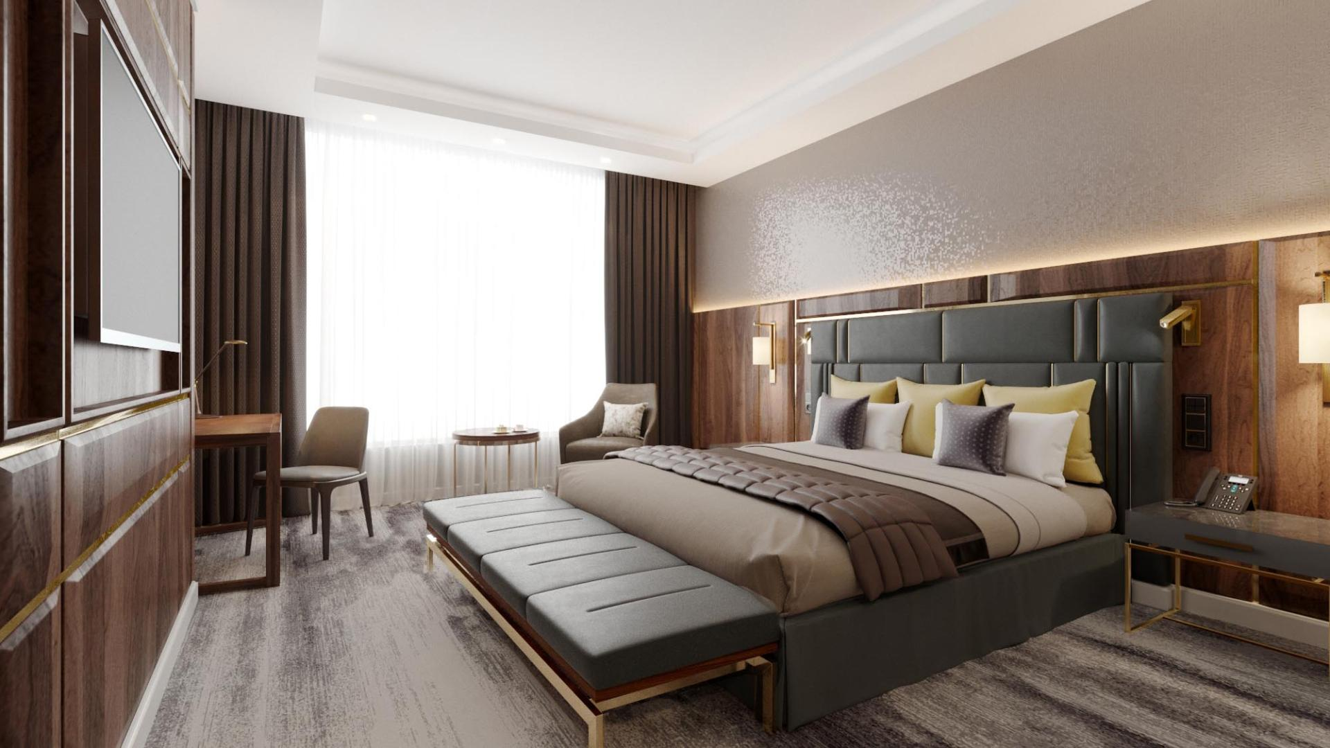 Lotte Hotel Samara - Rooms - Standard - Deluxe Room