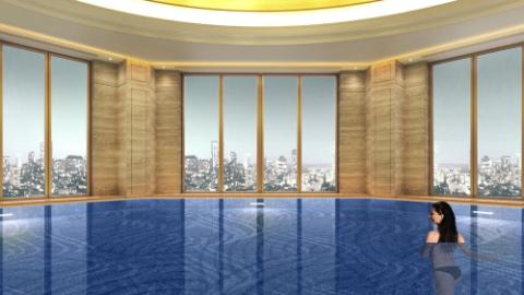 Lotte Hotel Samara - Facilities Spa & Fitness - Infinity Pool