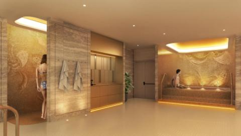 Lotte Hotel Samara - Facilities - Spa & Fitness - Sauna