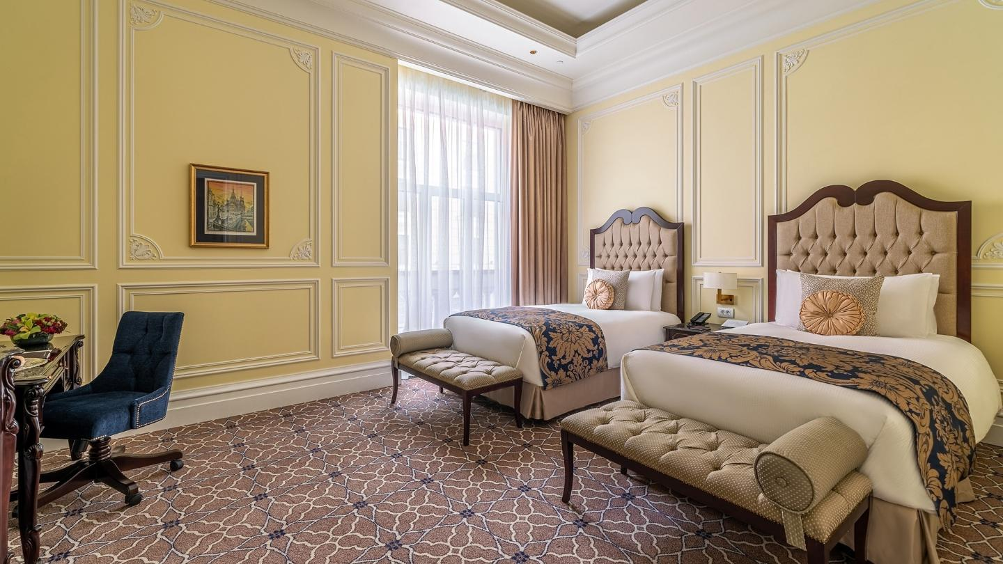 Lotte Hotel St. Petersburg - Rooms - Standard - Deluxe Room