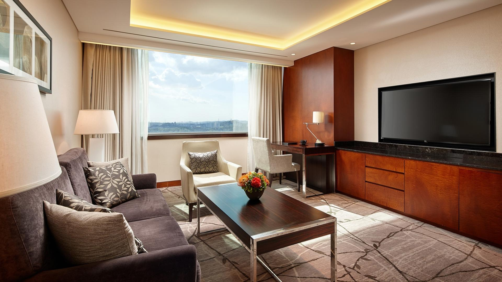 Lotte Hotel Ulsan, Guest Room, Suite, Superior Suite Family Twin