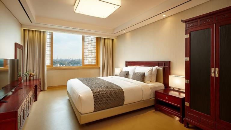 Lotte Hotel Ulsan, rooms, suites, Superior Suite Ondol