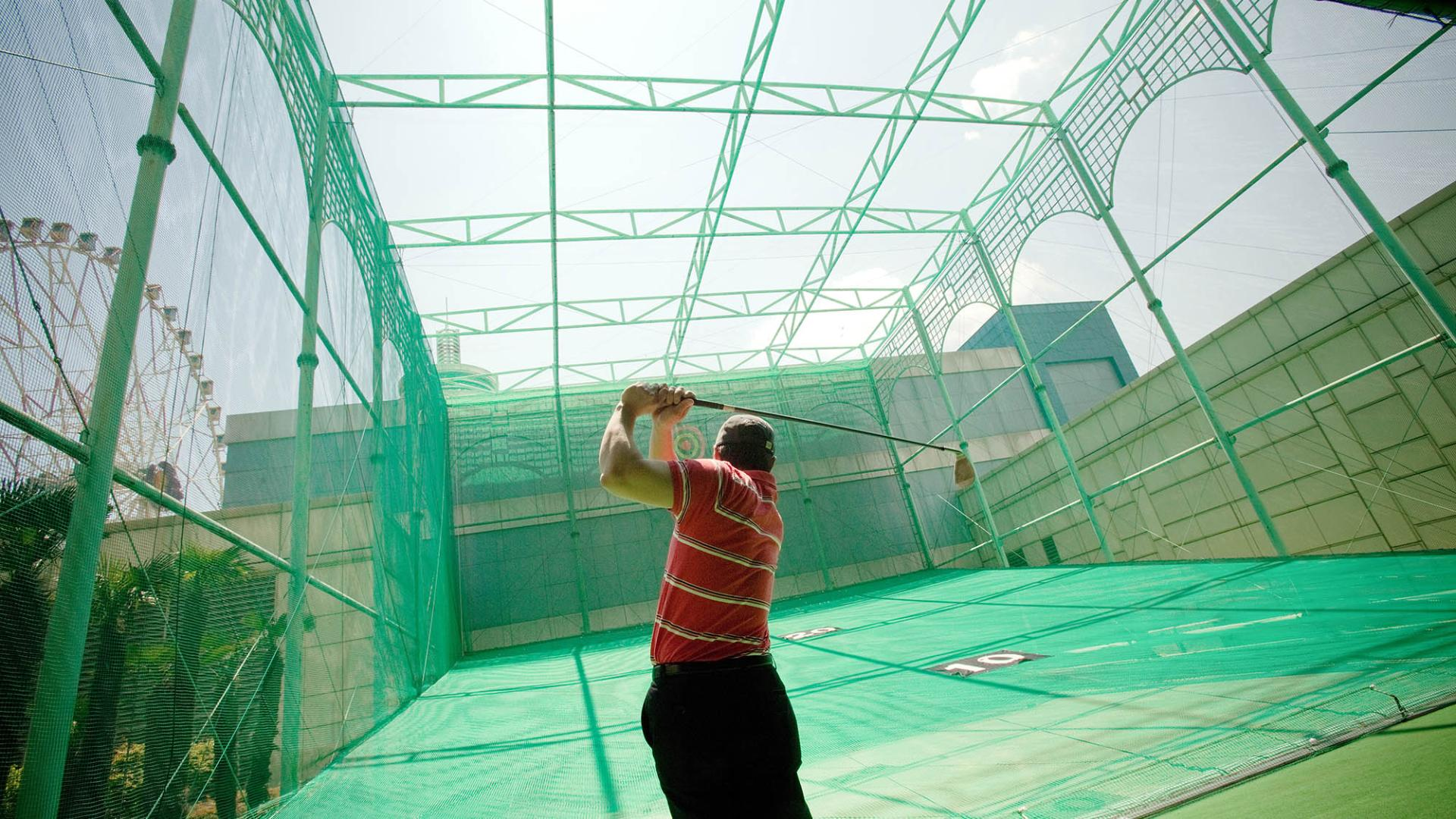 Lotte Hotel Ulsan-Facilities-Spa&Fitness-Golf Driving Range
