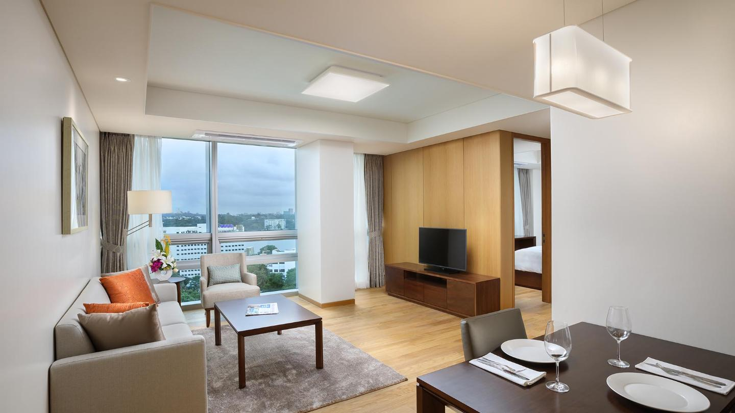Lotte Hotel Yangon-Service Apartment-1 BEDROOM