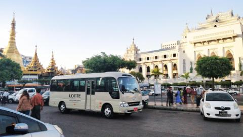 Lotte Hotel Yangon-Facilities- Service-Shuttle Bus