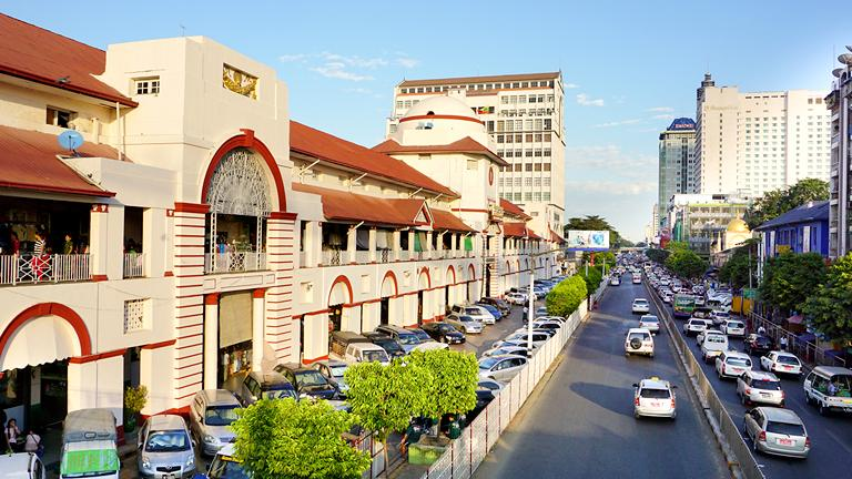 Lotte Hotel Yangon-About Us-Tourist Attractions in Yangon-Bogyoke Market (Scott Market)