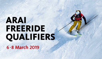 Arai Freeride Qualifiers 2019