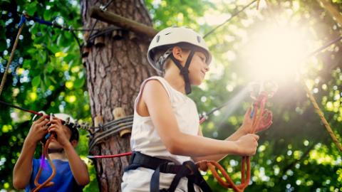Lotte Arai Resort, Tree Adventure, Boy, Main image