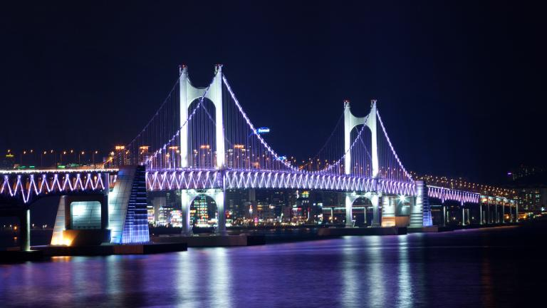 Gwangan Bridge, Busan