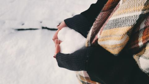 Heart, Snow, Winter