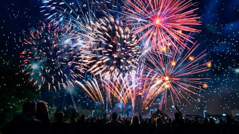 fireworks, firecrackers, events, night, party