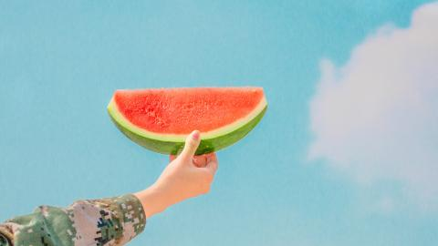 Summer, watermelon, vacation