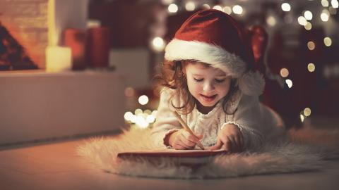 Winter, Christmas, Children