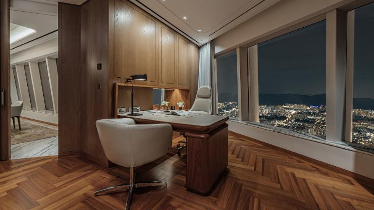 Signiel Seoul-Rooms-Suite-Royal Suite Room