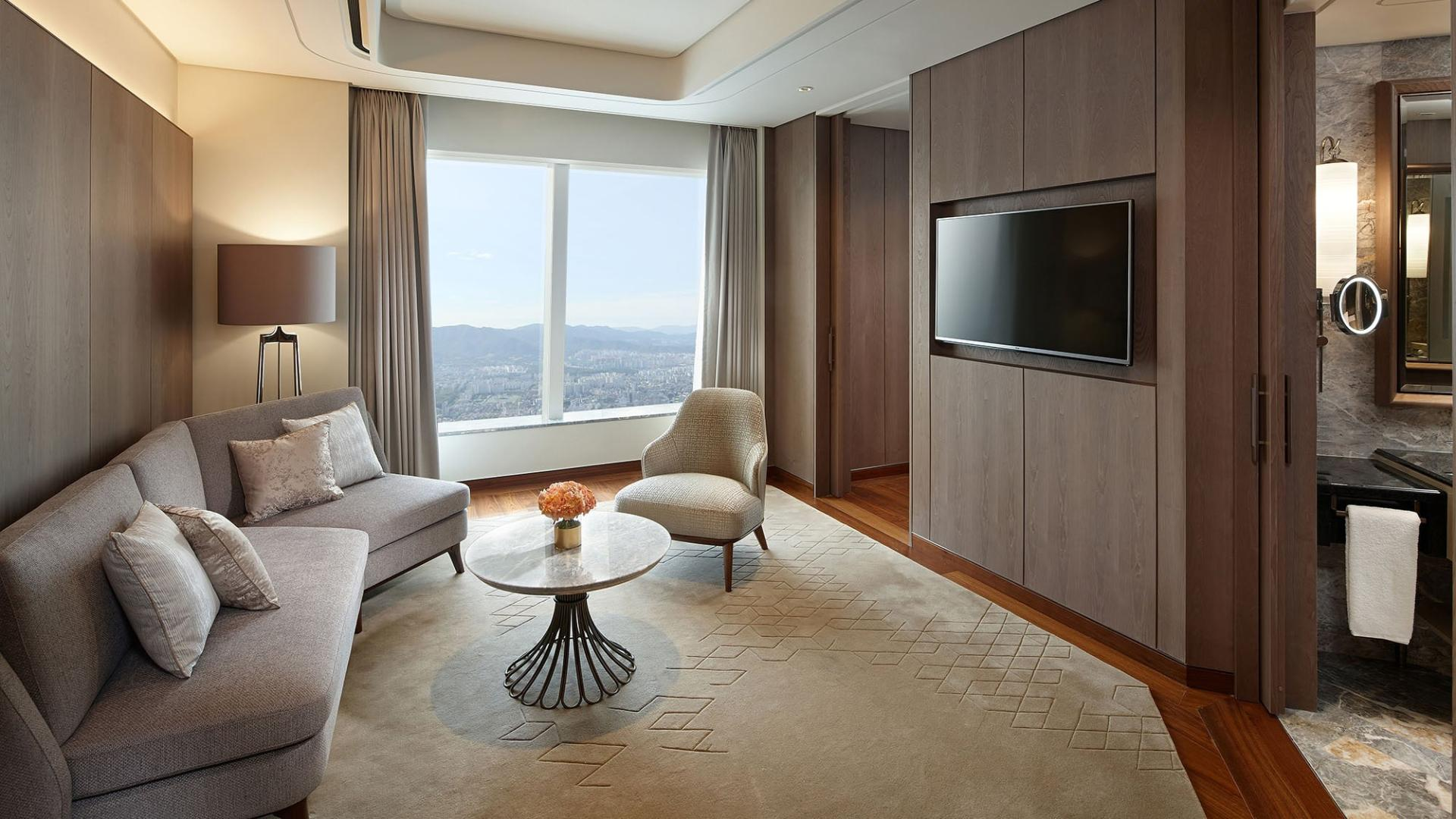 Signiel Seoul-Rooms-Suite-Premier Suite Room