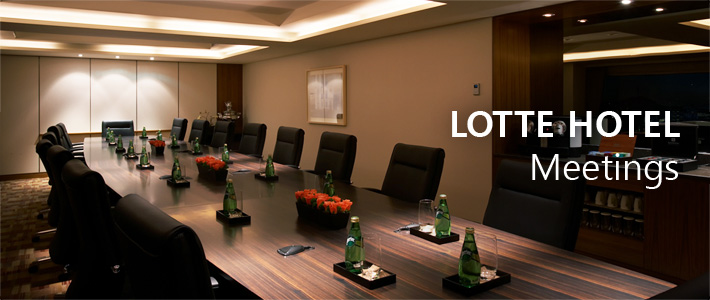 LOTTE HOTELS & RESORTS MEETINGS & WEDDINGS Meetings